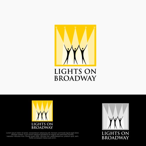 World-class logo for a new Broadway organization : Lights on Broadway