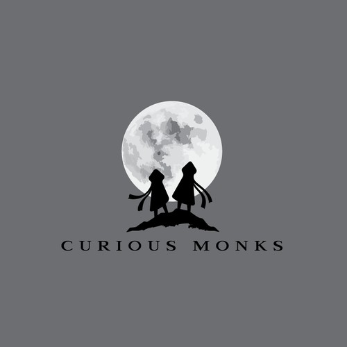 curious monks logo project