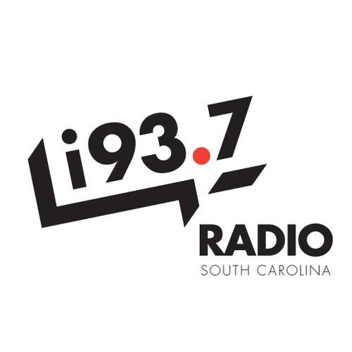 Trendy logo for South Carolina radio station
