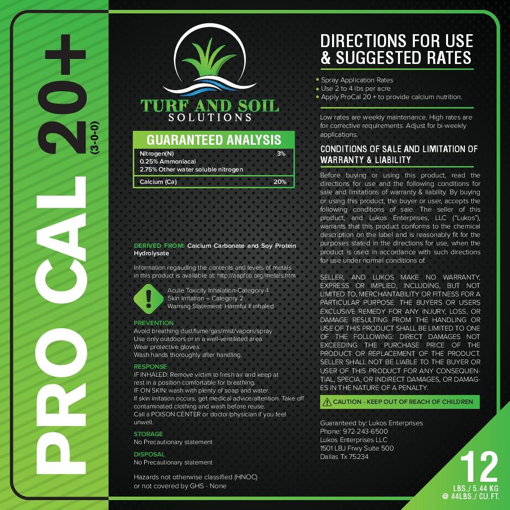 Plant derived fertilizer label template