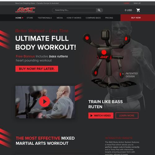 sport machine web design