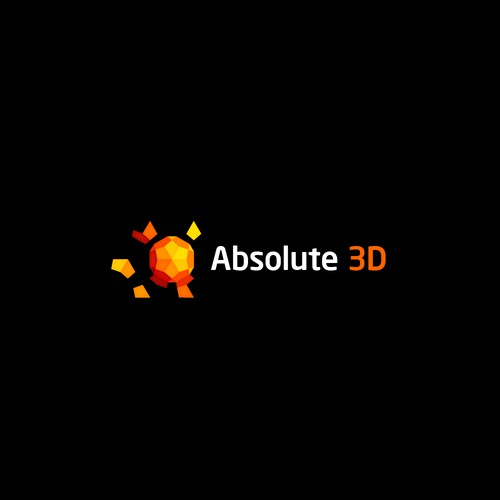 Logo for 3D print company.
