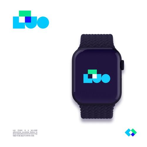 Logo for a no-code application