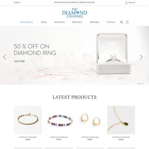 Jewellery website.