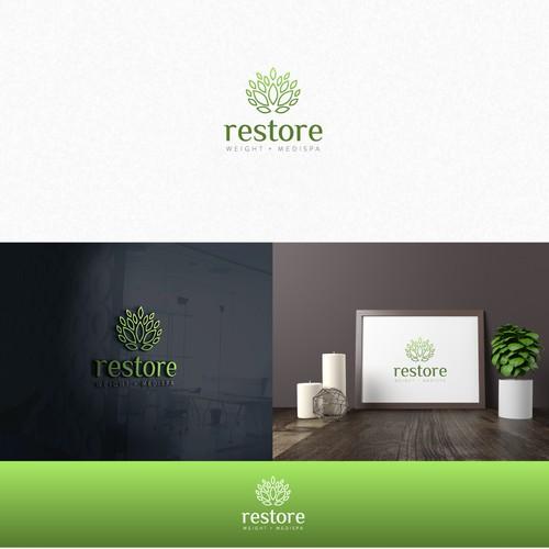 Discover Restore™ Logo Design!