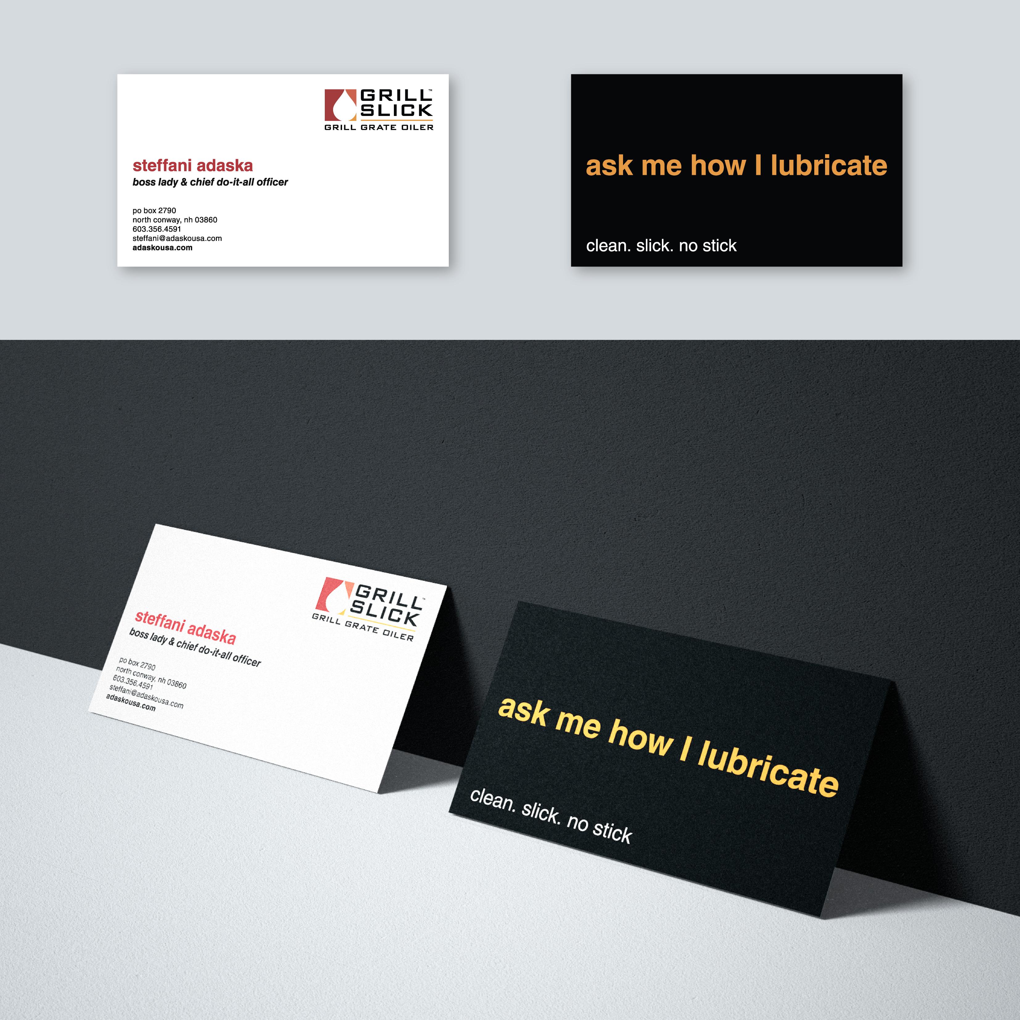 Custom made logo and business card