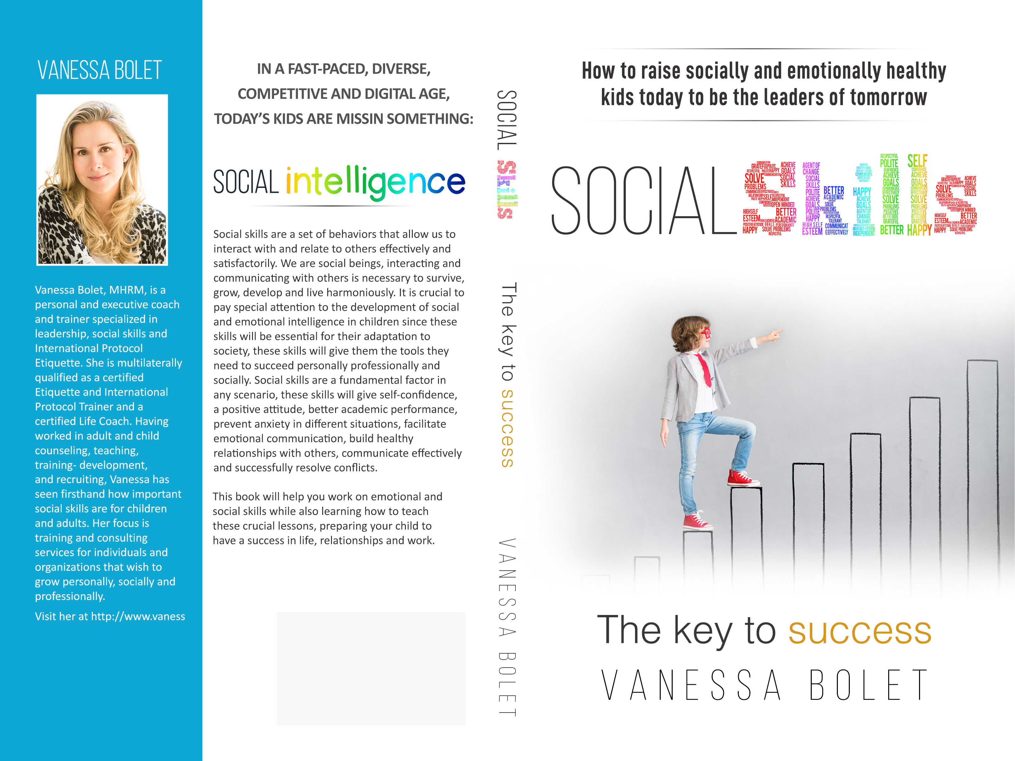 Social skills and Etiquette coach needs cover design for book (Raising socially intelligent kids)