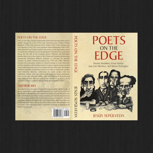 (Winner) Design a unique cover for a book analyzing Latin American poetry