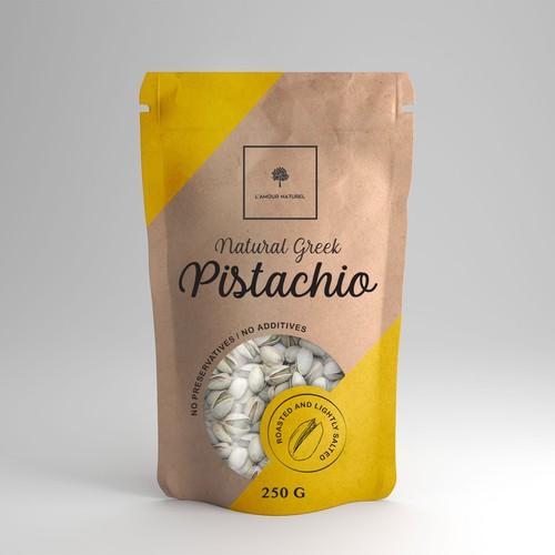 Natural Greek Pistachio