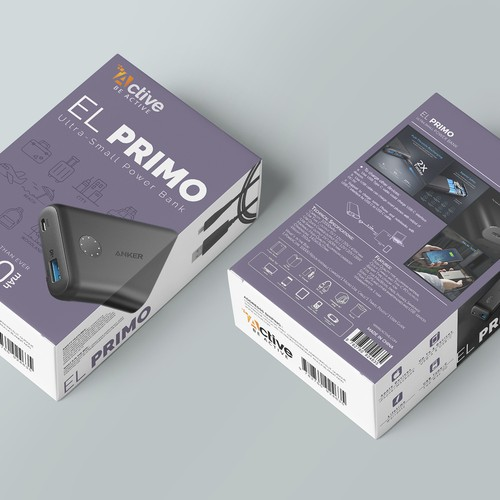 Power bank package design