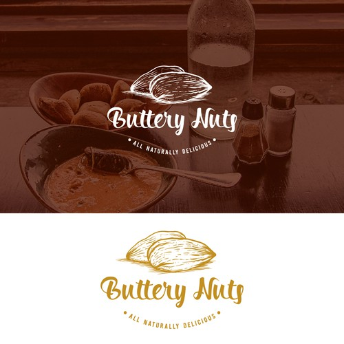 Logo concept for Buttery Nuts
