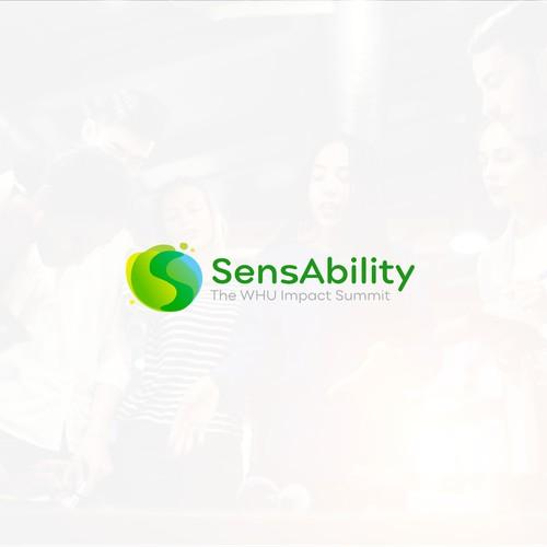 Modern logo for social website