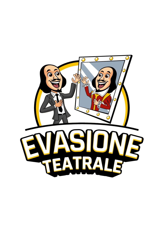 Create a cartoony logo for a theatre school