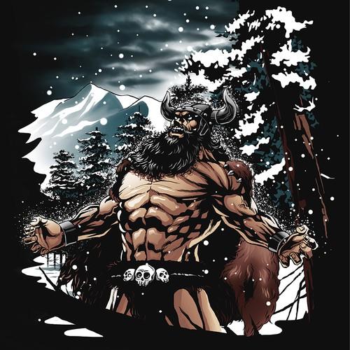 viking god of winter