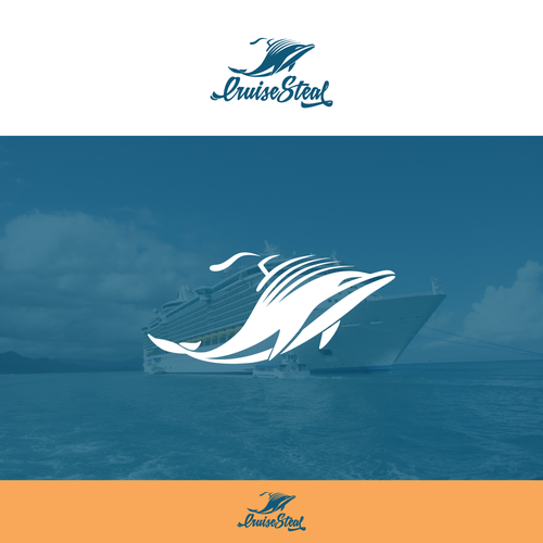 Logo concept for travel agency