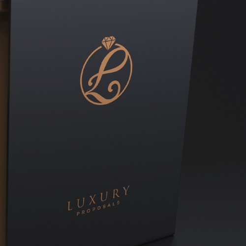 Logo concept for luxury store