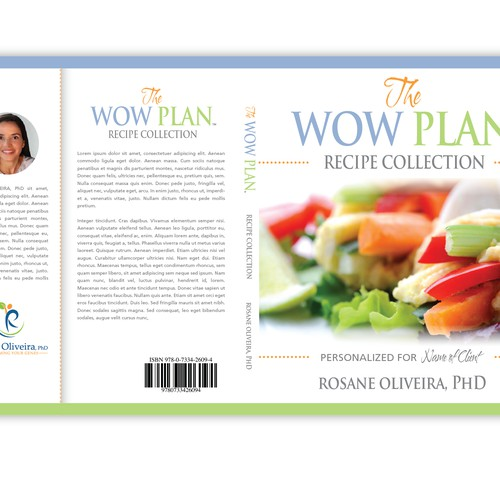 Stunning Cover for (Vegan) Cookbook