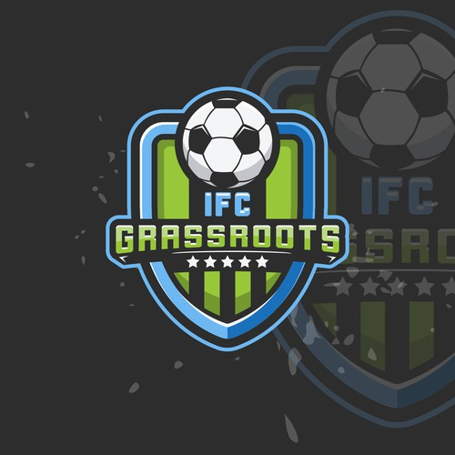 logo concept for IFC Grassroots