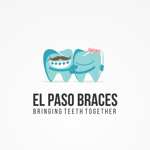 Playful Orthodontic Specialist Logo