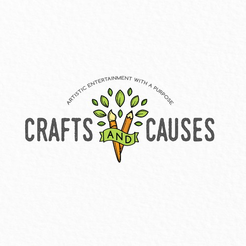 Logo for a Crafting Company With Niche in Fundraising