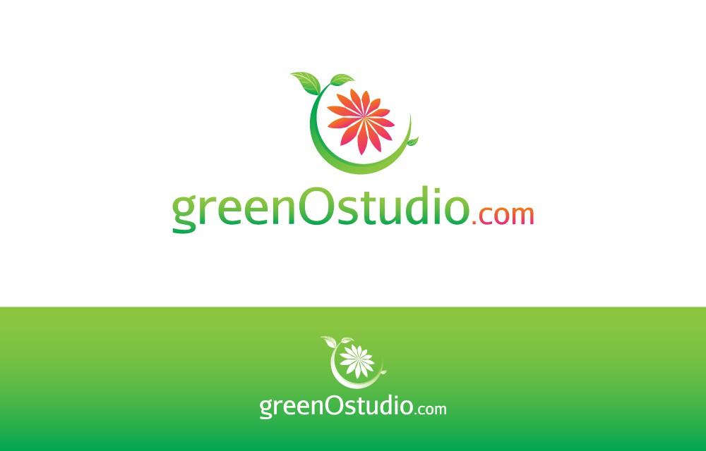 logo for greenOstudio.com