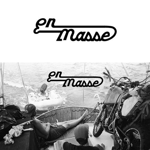 Logo concept for En masse