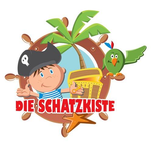 Logo concept for toyshop