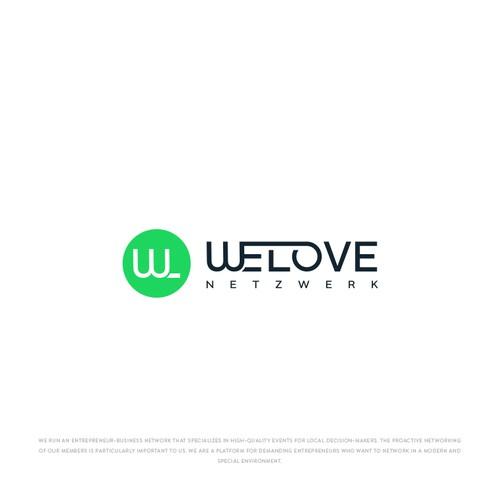 Logo Design for WELOVE NETZWERK.