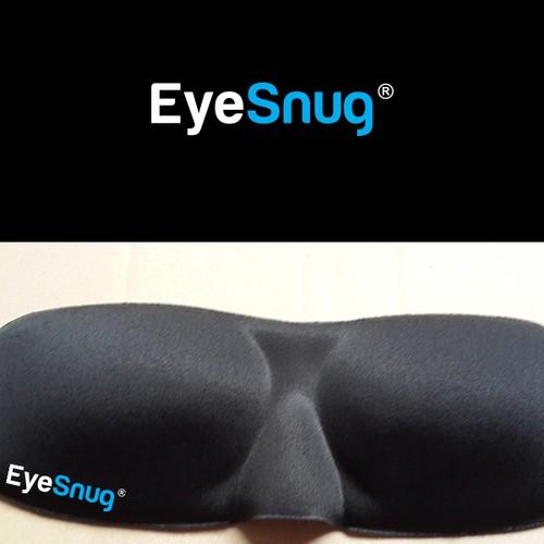 Create a logo for new product launch of sleepware: EyeSnug