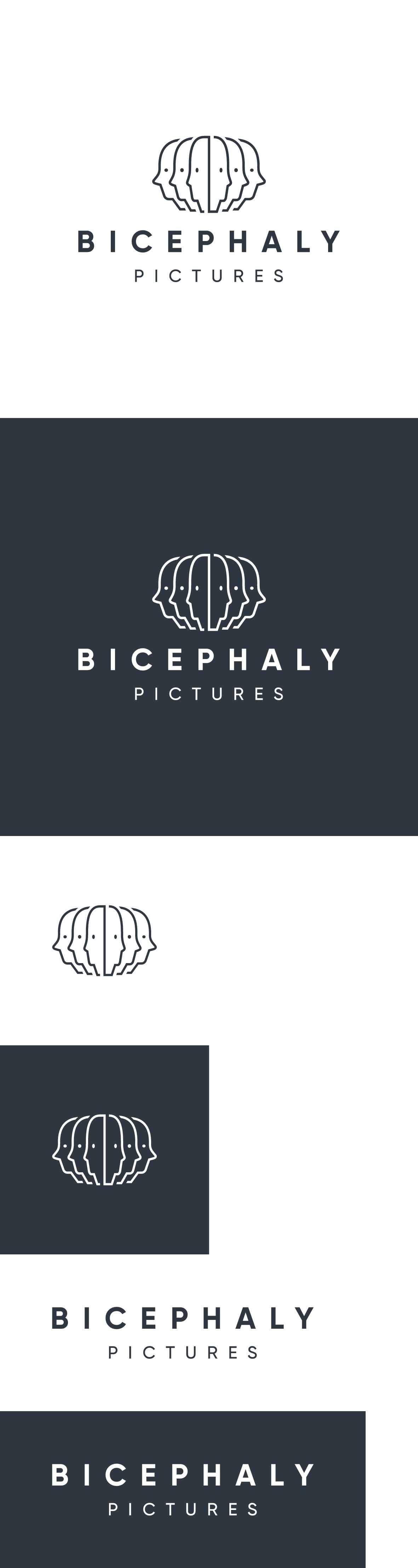 Design a film production company logo for Bicephaly Pictures