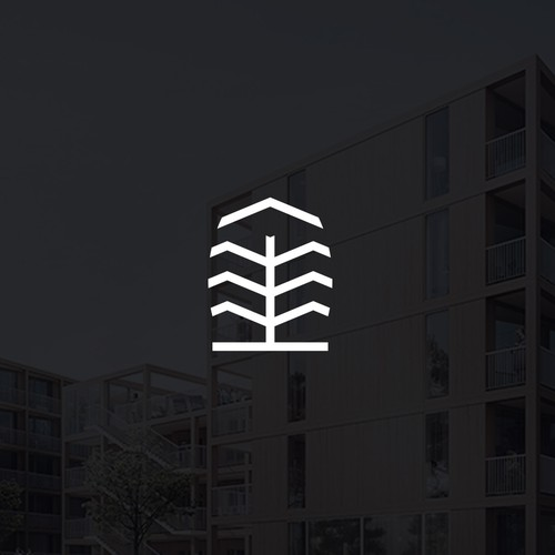 Logo for unique apartment project