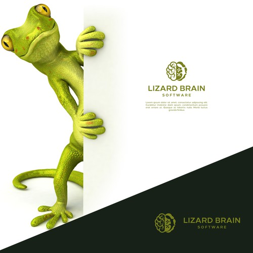 Lizard and brain