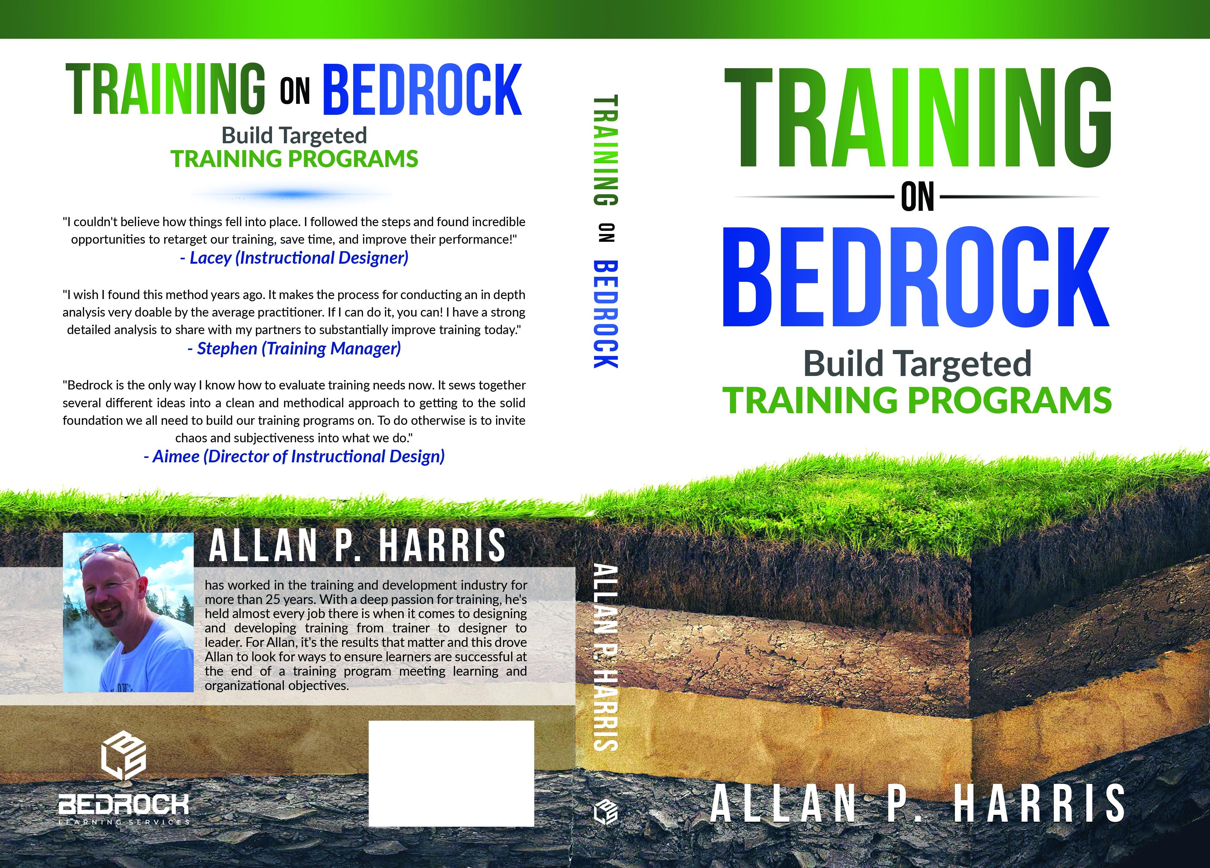 Book cover design for niche corporate training market