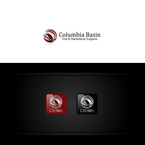 Create a modern, bold logo for an oral surgery center