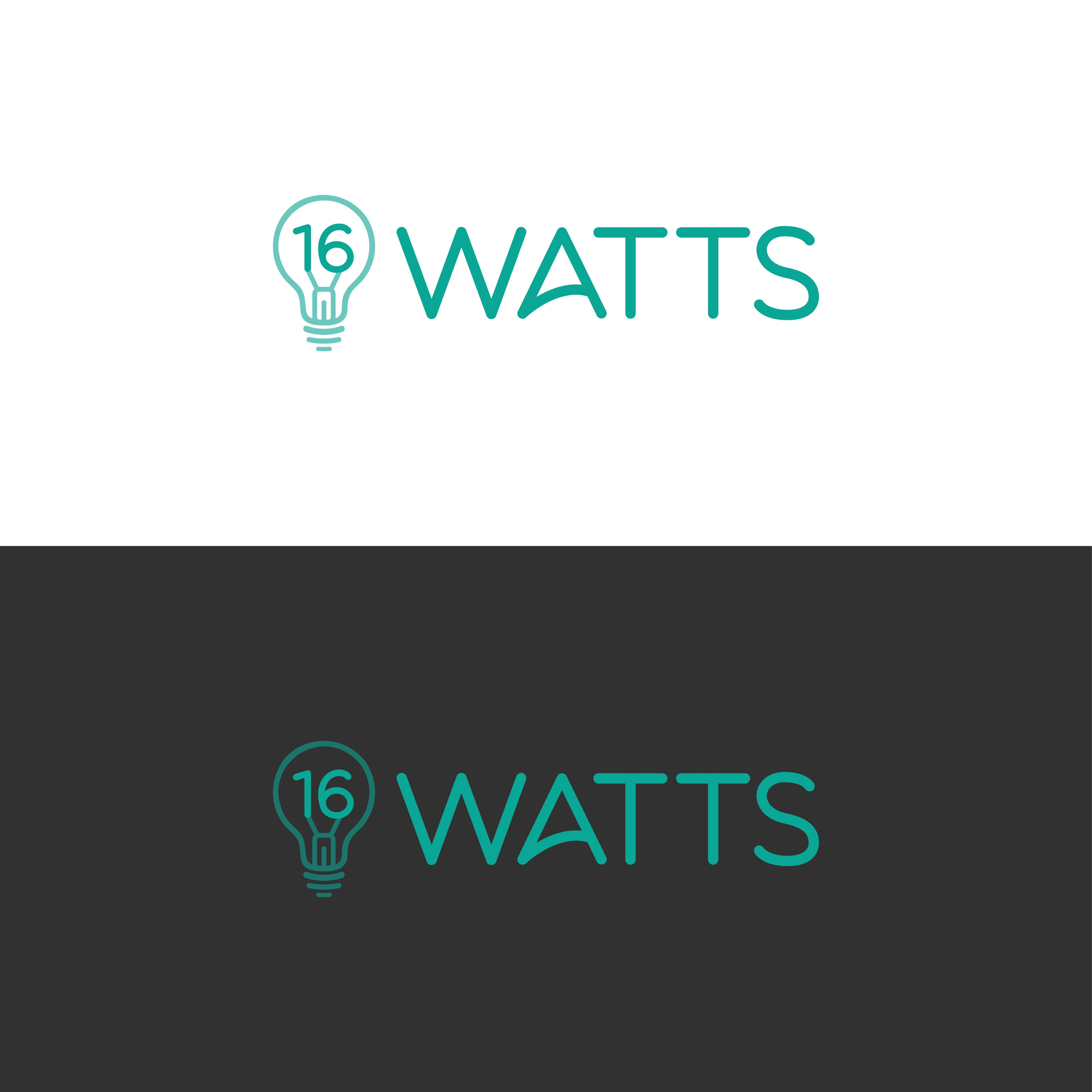 Blend antique tech and modern software in a logo and website for 16 Watts