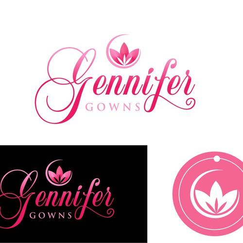 logo for Gennifer Gowns