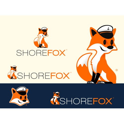 Create a captivating logo and mascot for ShoreFox - the shore excursions & tours mobile app!