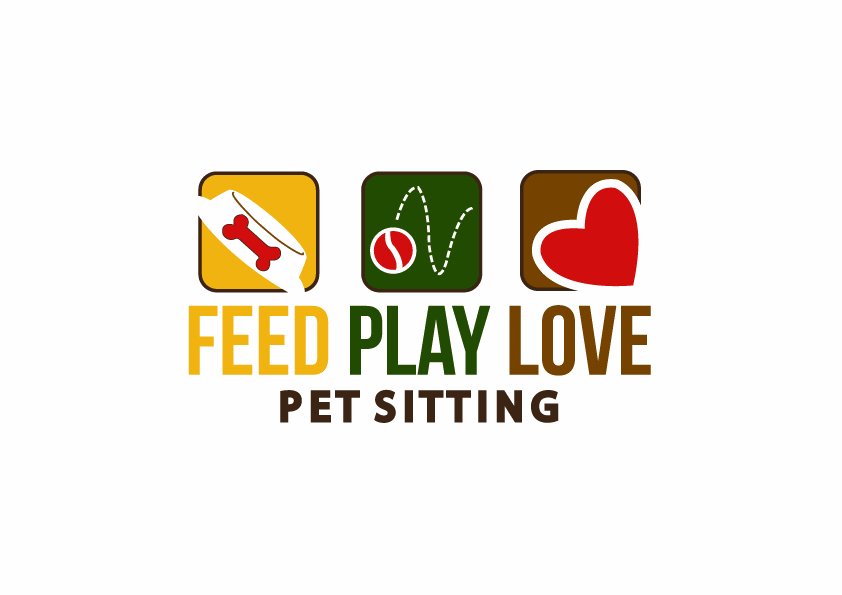 Help Feed Play Love Pet Sitting with a new logo