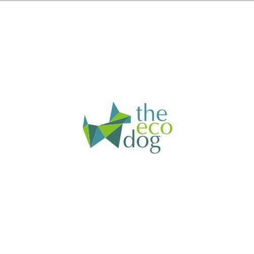 logo for the eco dog - ecologic dog food