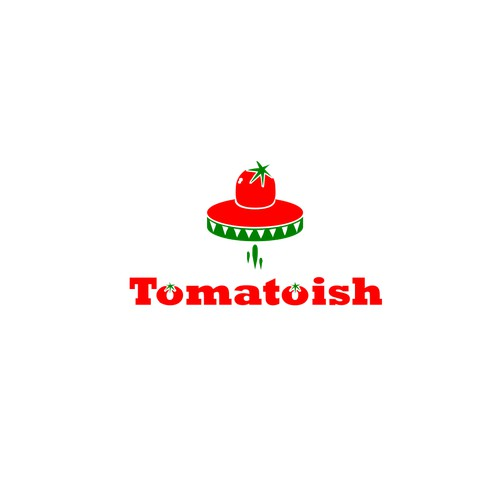 logo concept for tomatoish
