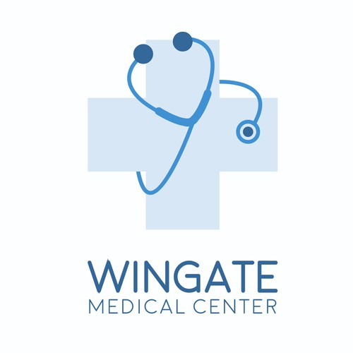 Logo for a medical center
