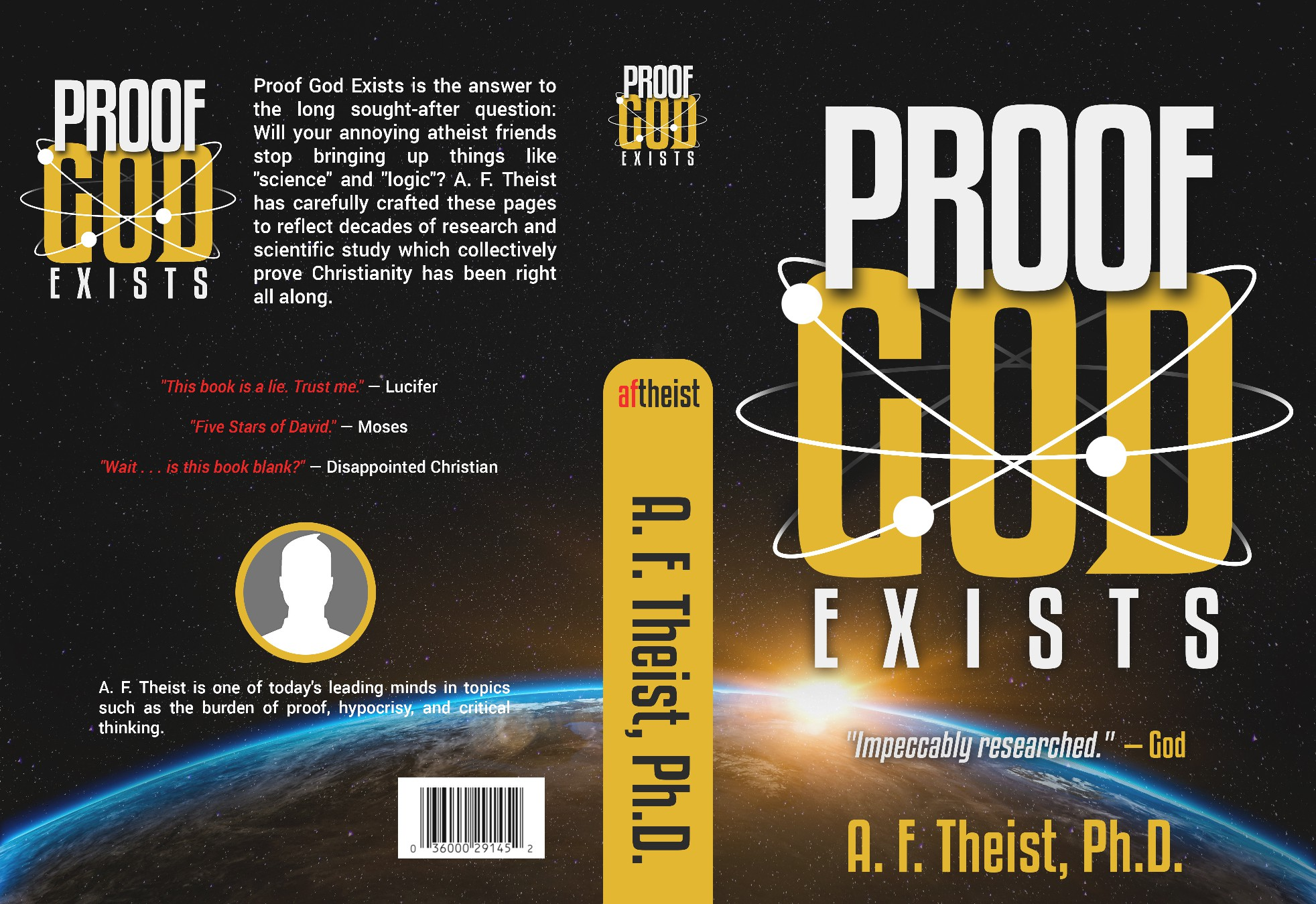 """Proof God Exists""—this book title is ironic!"