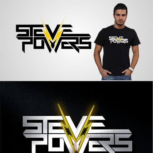 Create Steve Powers new logo and be seen by music lovers worldwide!
