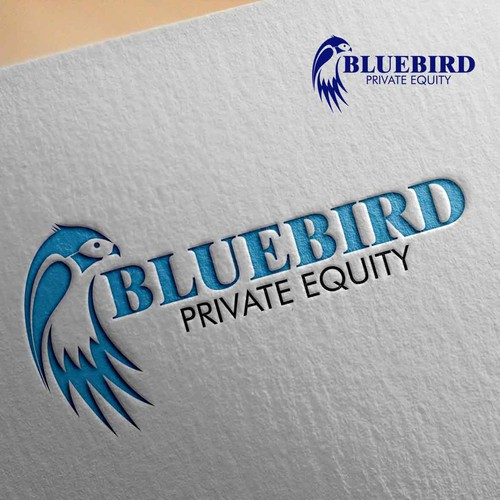 bluebird logo design