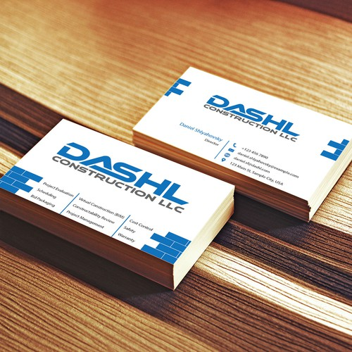 name card Construction Company
