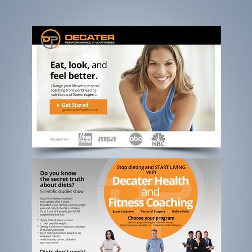Online Nutrition Coaching Website Launch!