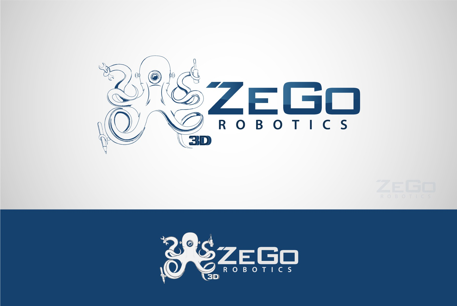 We need awesome logo for our robot.