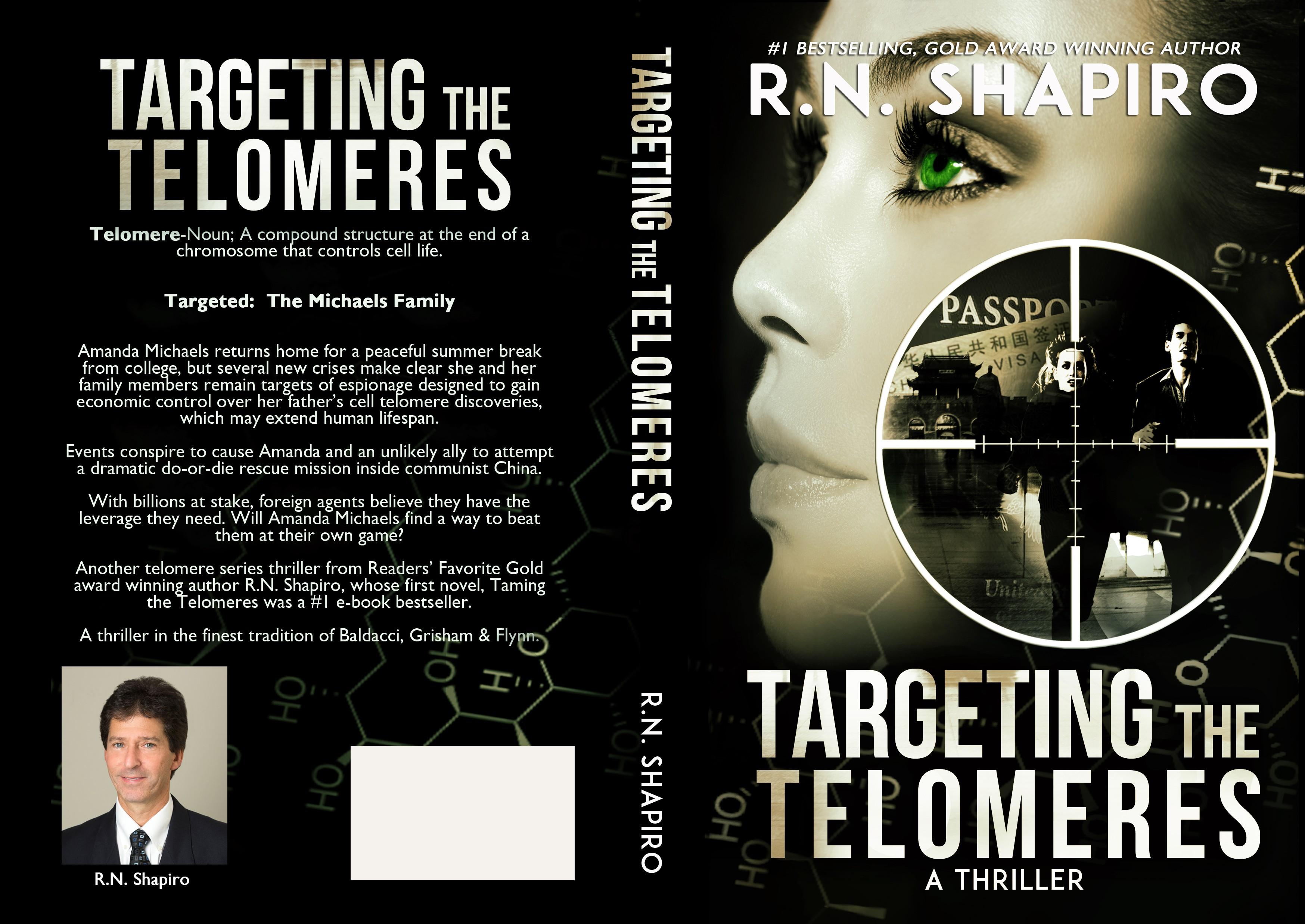Killer Cover for Suspense Thriller by Award Winning Author
