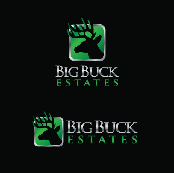 "Deer Hunting Ranch ""Big Buck Estates"" Needs New Logo"