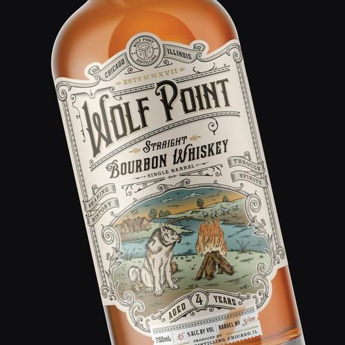 Wolf Point Straight Bourbon Whiskey